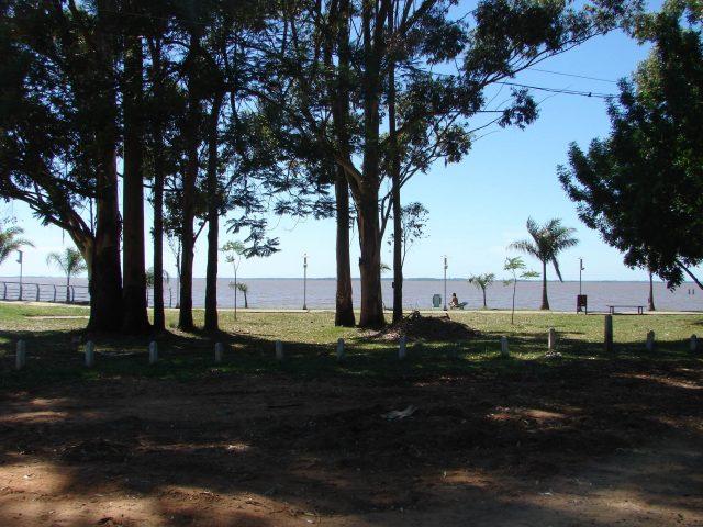 Al lado de la playa